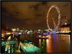 Anglia, Londyn, Panorama, London Eye
